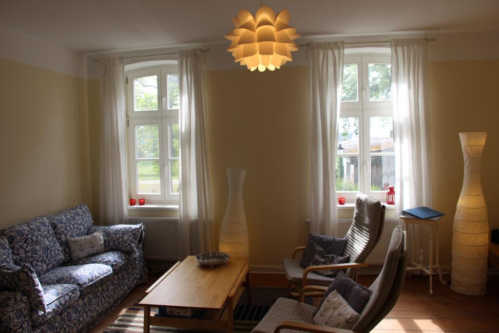 Wohnzimmer in der OG Wohnung Family