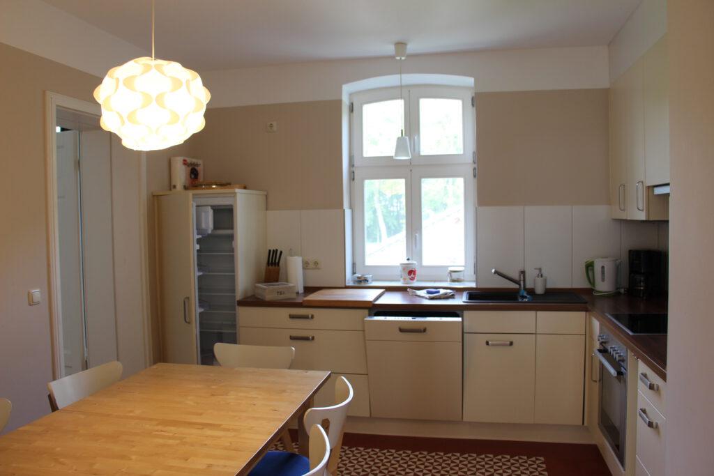 Küche in der OG Wohnung Family